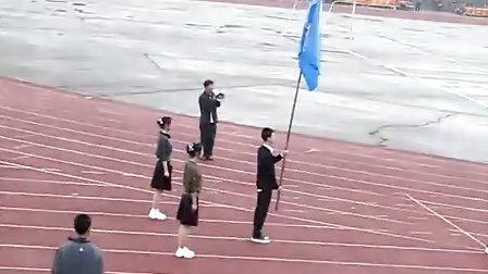 2011庄河高中运动会 三年一班入场