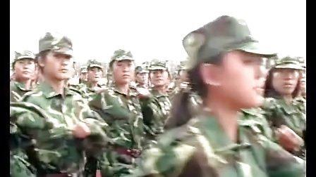 枣庄科技职业学院2011级新生军训