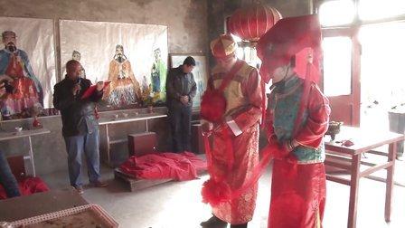 石勇与李利花《从俭结婚》,地址:新乡市凤泉区牧野观