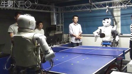 浙江大学研发出首个连续快速反应人形机器人 打乒乓球堪称国乒