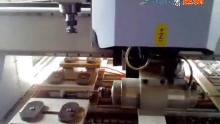 数控橱柜门加工中心视频 橱柜加工专用加工中心雕刻机