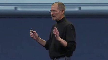 steve jobs 发布震撼全场的mac book air