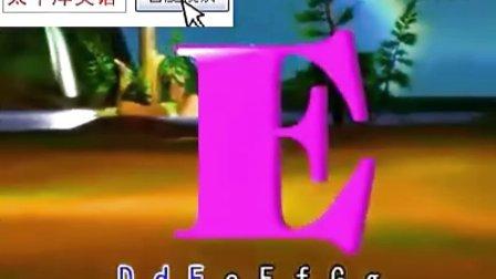 幼儿英语儿歌 英文字母歌3