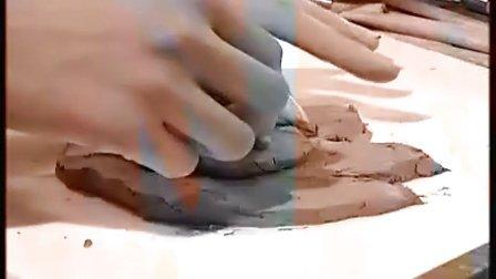 六年级美术优质示范课视频下册《泥浮雕》