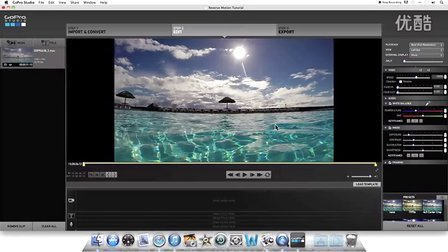 GoPro Hero 3 & 3+ (Plus)  GoPro Studio制作慢动作教程