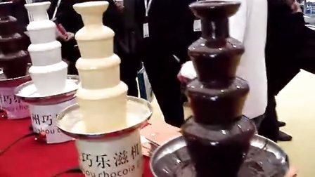 巧克力水果串,巧克力喷泉机,巧克力喷泉 朱古力喷泉机 巧克力鲜果