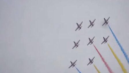 中国空军首届航空开放日 飞行表演