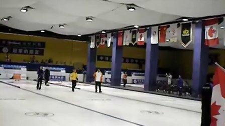 2011北京国际冰壶对抗赛 开幕式 开壶仪式 及退场