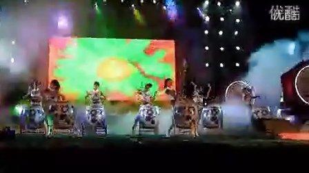 青花瓷鼓《中国龙》!