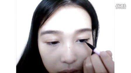 【梁吉娜】简单方便的自然清新妆容