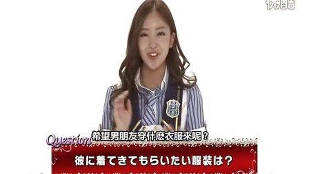 [个人字幕]AKB48 in关岛 板野友美 interview
