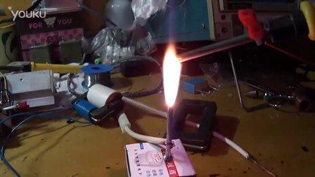 自绕交流高压输出开关变压器-高压包-螺丝批拉弧