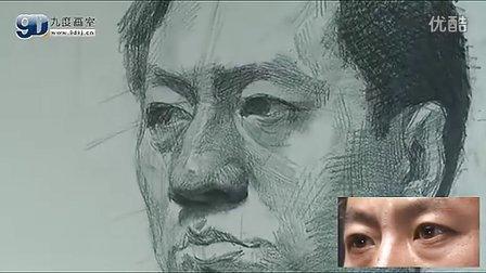 九度画室-素描头像(视频教学)乔建国003—完整版_标清