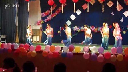 傣族舞蹈(西双版纳卫校护理55班)