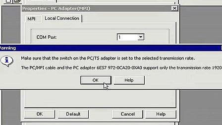 STEP7视频教程之故障排除第8集准备一个到PLC的连接.flv