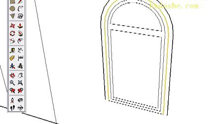 Google SketchUp Toolbar Series Offset