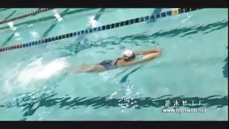 26自由泳踢腿打水本科合辑
