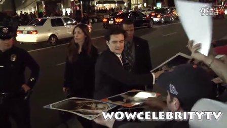 2013年12月2日霍比特人2洛杉矶首映Orlando到达by wowcelebritytv