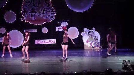 2011广州大学新闻与传播学院&人文学院文艺晚会节目之开场舞
