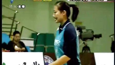 2011-2012年女排联赛12.10 福建:恒大3