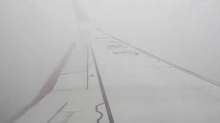 MF8041 去大连经停济南,落遥墙机场01跑道