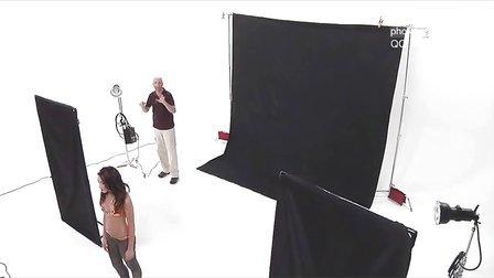 影棚灯光人像摄影布光教程(中文字幕)- 灯光设置
