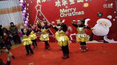 2011年大地幼儿园圣诞节晚会歌舞hello hello超可爱小班
