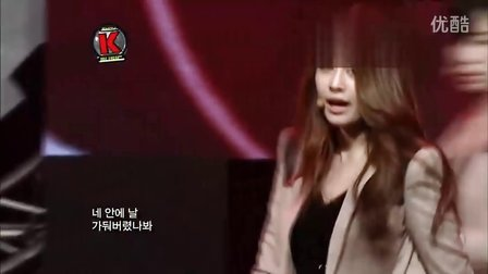 【OC】T-ara -Cry Cry 现场版(111210.MBN.Show K-Music)