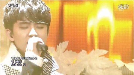 【MUXI】20131208 SBS人气歌谣 EXO 十二月的奇迹 live中韩字幕