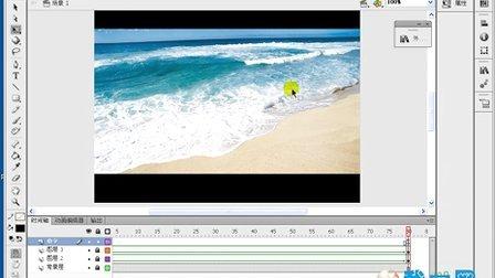 flash cs6 视频教程  MTV的制作