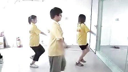 公益欢乐海洋舞蹈教学-16步点秋香