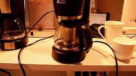 华迅仕咖啡机怎么操作 美式咖啡壶使用方法