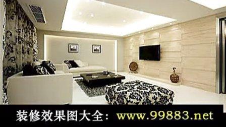 客厅电视墙效果图设计欣赏,皮纹砖电视墙效果图,简装电视墙效果图