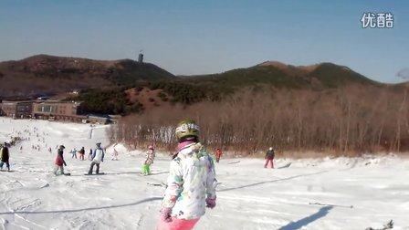 极限滑雪 赛赛还不会换刃的时候 不许笑 哈哈哈哈哈哈哈