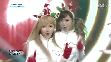 【OC】131208.SBS.人气歌谣.Crayon Pop - Lonely Christmas