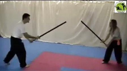 澳洲功夫联合会中国双手剑比武