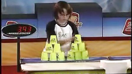 最快的手,世界叠杯子大赛