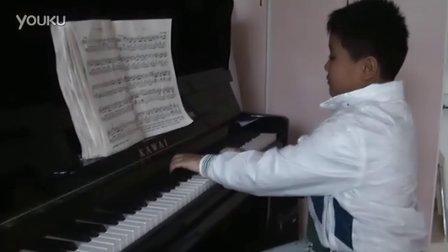 钢琴练习《四小天鹅舞曲》