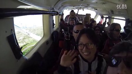 皇后镇跳伞12000ft