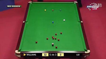 R1 威廉姆斯(111) vs 刘闯 第9局