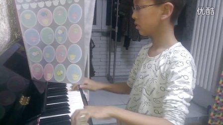 2013/12/12早洪韬壹&钢琴练习