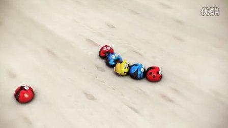 蓝帽子玩具欠揍虫5S-4
