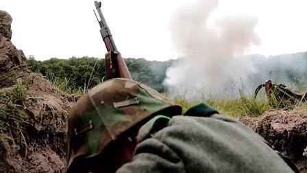 2008年东欧军迷聚会,重现二战东线苏、德战场3