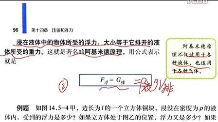 14.5浮力-九年級物理初三物理人教版 369学习网