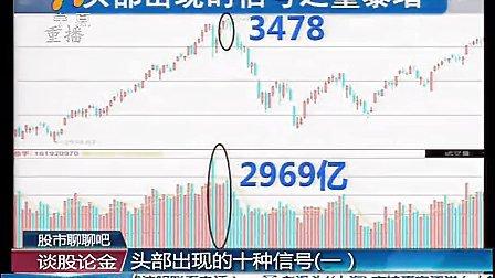 1、股市聊聊吧  头部出现的十种信号(一) 130123