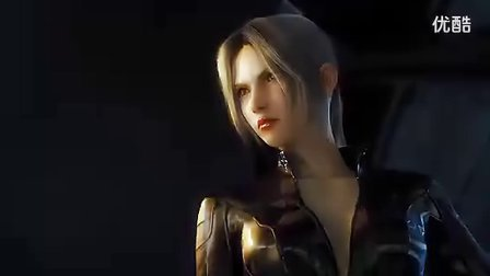铁拳CG动画紧身衣女杀手对旗袍女杀手