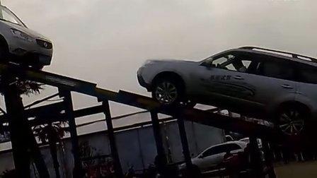 斯巴鲁森林人 对抗双环汽车20120501046