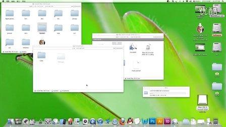 PC装苹果系统 MAC OSX Lion 原版U盘视频制作教程