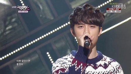 【OC】131213.KBS.音乐银行. EXO - 12月的奇迹 现场版