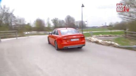 Zwei Audi mit Bentley-Motor